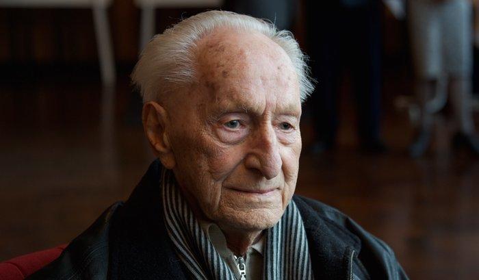 Heinz Keßler während der Festveranstaltung »70 Jahre junge Welt« im Februar in Berlin